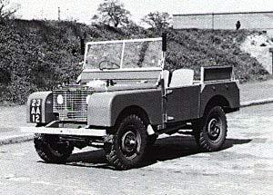 Land Rover FAQ - Vehicle Identification - Identa Rover Series I