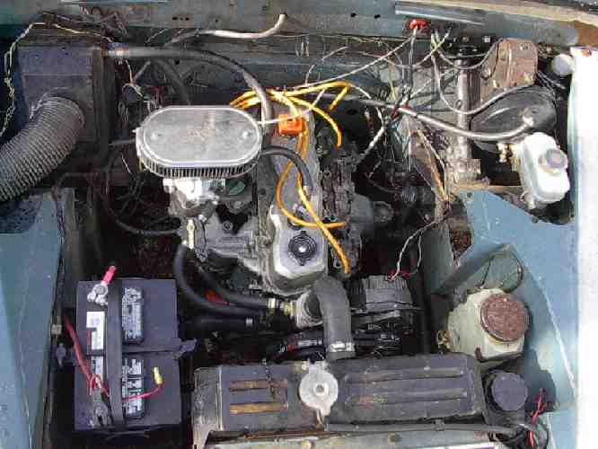Land rover faq repair maintenance series engine engine series land rovers options robert davis engine conversion publicscrutiny Gallery