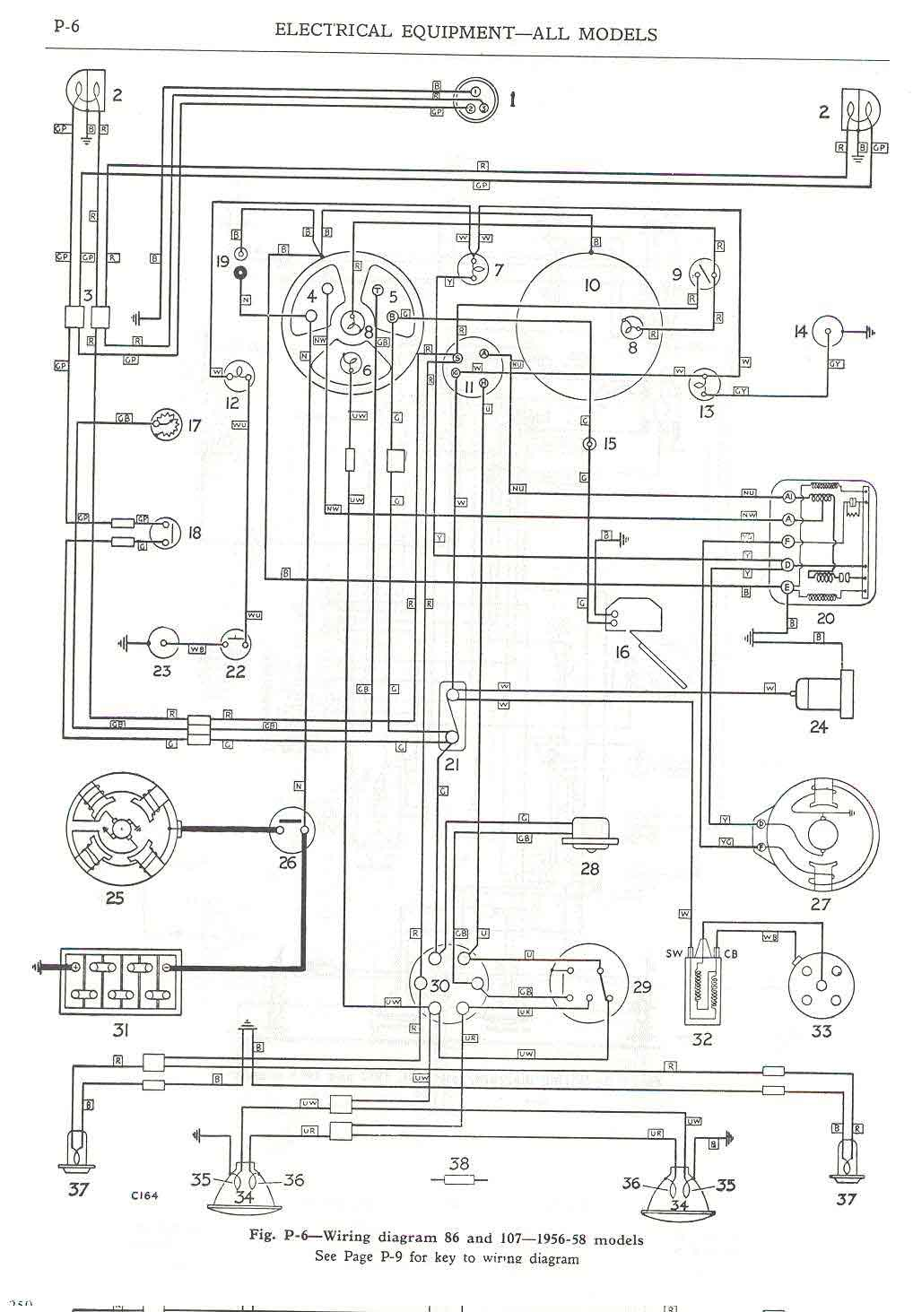 land rover series 1 chassis diagram