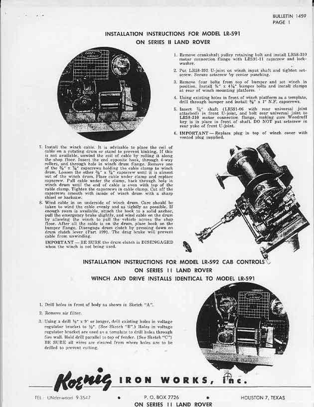 land rover faq - repair  u0026 maintenance - series