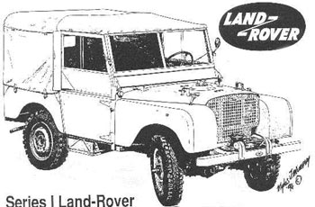 land rover faq - vehicle identification - the first land rovers