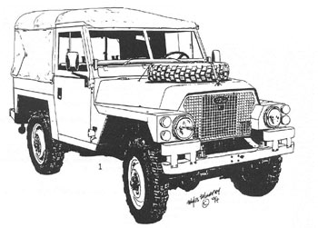 1972 land rover series iia dormobile t