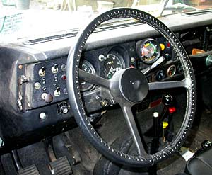 Land Rover Series III Dash