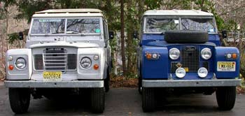 Land Rover Series III and late IIA