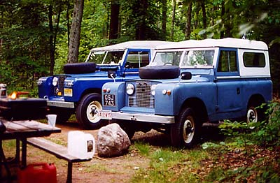 Land Rover Series IIA and II