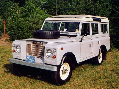Series III 109 Land Rover
