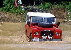 Land Rover Stage I V8