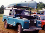 Russel Dushin's Series II 88 with canoe for some Silver Lake paddling